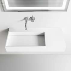 Kubo Inside 90L - Massiv Matt White SolidTec®