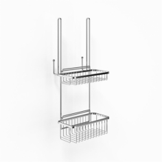 Richmond R71 - Rack m 2 kurve - Krom