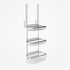 Richmond R72 - Rack m 3 kurve - Krom