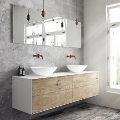 Copenhagen Chic 160 Edition 3 - Corian®, Raw Wild Oak