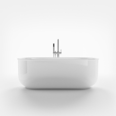 The Chic 170 - 170x80, Glossy White