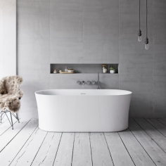 Pulcher Curio Spa 170 - Wellness Spa Tub, 170x80, Glossy White