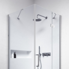 High Line H90WDR - 8 mm, 90x90x200h, Easy Clean